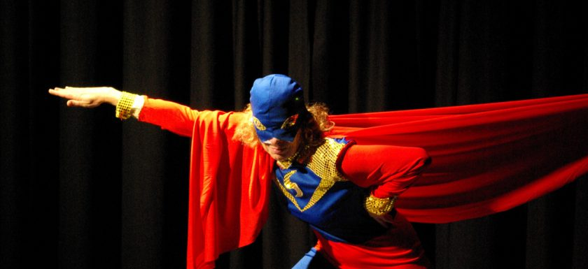 "alt=""man in red and blue superhero costume"""