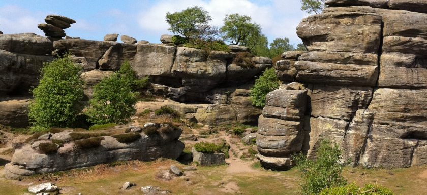 "alt=""Brimham Rocks in North Yorkshire"""