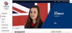 "alt=""Sophie Hobbah Team GB Athlete"""