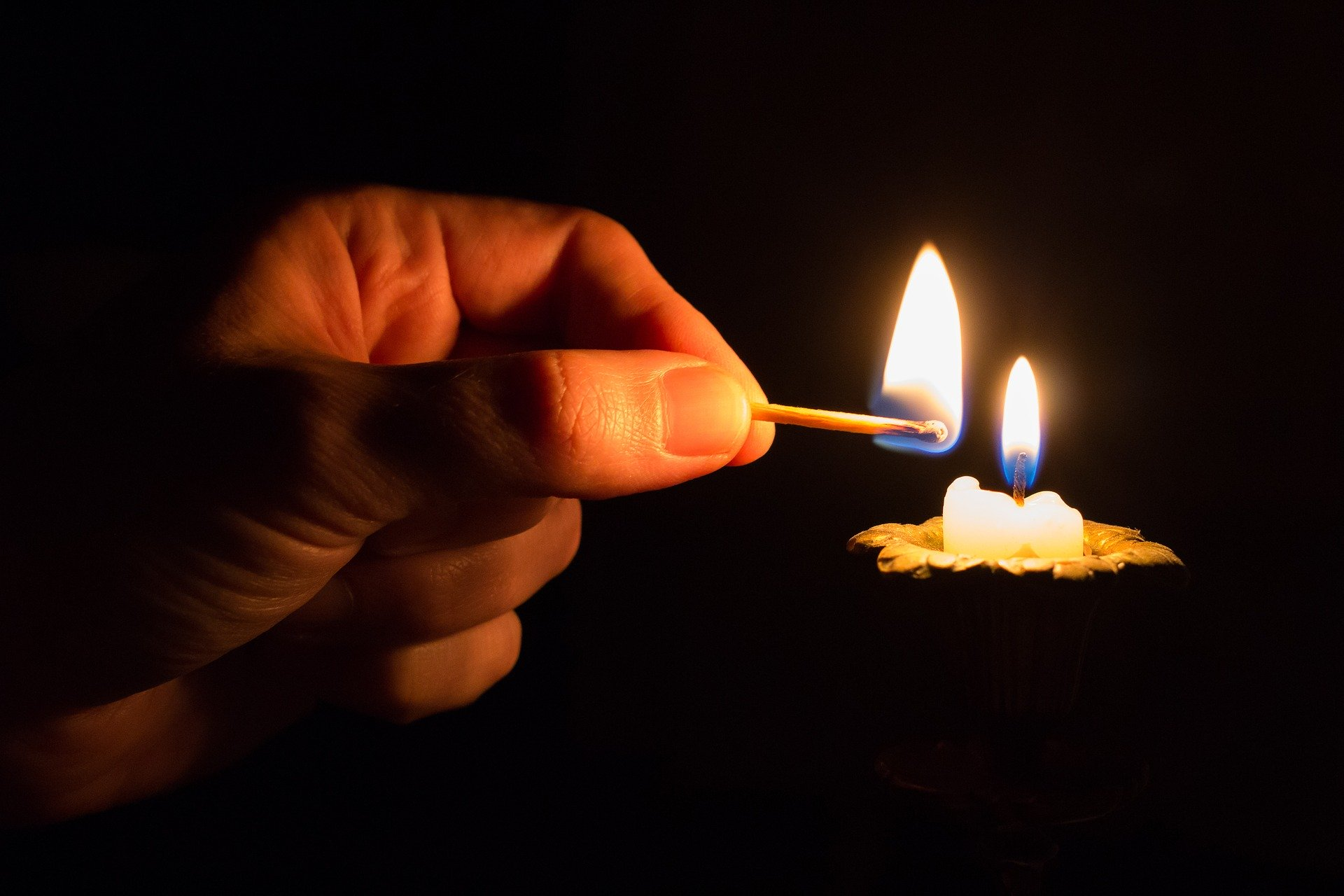 lighting a candle for Caroline Flack